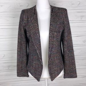 Mossimo M multicolor tweed blazer